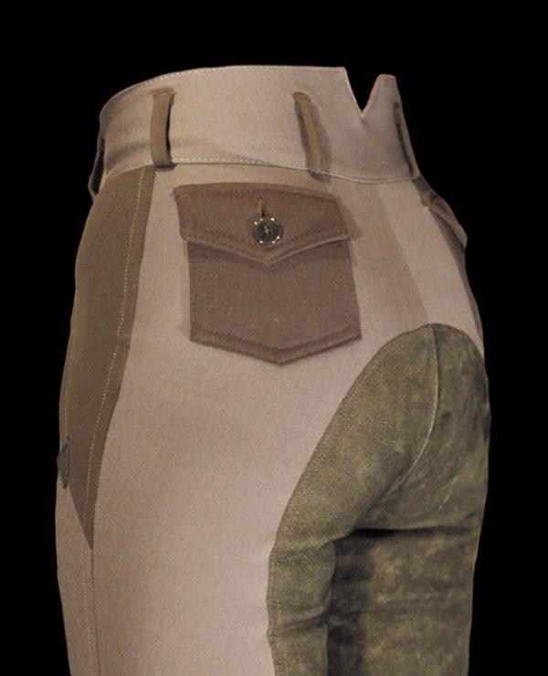 Reithose mit aufgesetzter Taschen